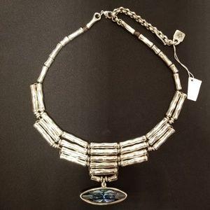 UNO de 50 Tailpipe Bezel Swarovski Crystal Pendant
